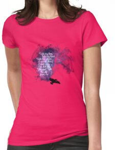 Firefly theme (The Ballad of Serenity) Womens Fitted T-Shirt