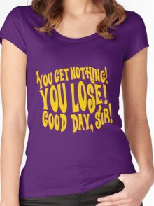 Good Day Sir Women's Fitted Scoop T-Shirt