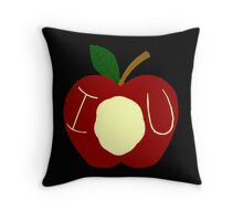 BBC Sherlock - Moriarty's Apple Throw Pillow