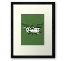 Stunnin' - For Darker Shirts Framed Print