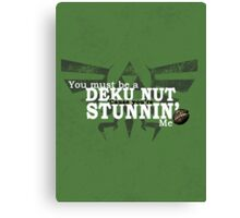 Stunnin' - For Darker Shirts Canvas Print