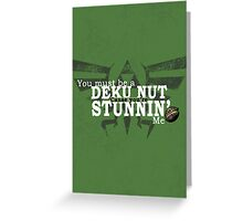 Stunnin' - For Darker Shirts Greeting Card