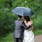 Walk on under umbrella by mrivserg