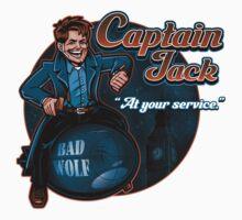 Captain Jack One Piece - Short Sleeve