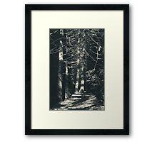 My Light Still Shines for You Framed Print