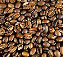 Coffee beans by Falko Follert