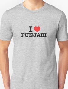 I Love PUNJABI T-Shirt
