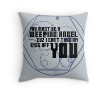 Must be an angel Throw Pillow