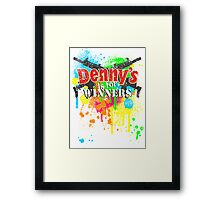 Denny's is for Winners Framed Print