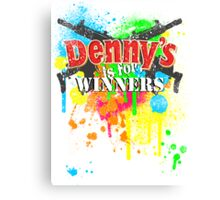Denny's is for Winners Canvas Print