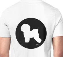 Bichon Frise Silhouette - Classic Black Unisex T-Shirt