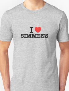 I Love SIMMENS T-Shirt