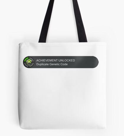 Acheivement unlocked - Duplicate Genetic Code Tote Bag