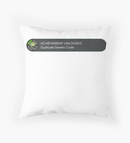Acheivement unlocked - Duplicate Genetic Code Throw Pillow
