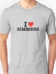I Love SIMMERS T-Shirt