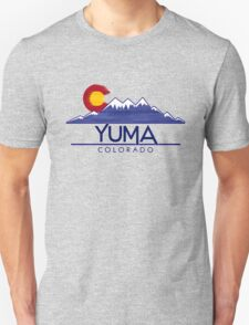 Yuma Colorado wood mountains T-Shirt