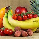 still life fruit by Falko Follert