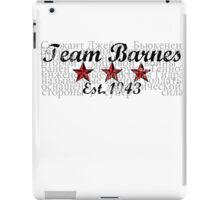Team Barnes iPad Case/Skin
