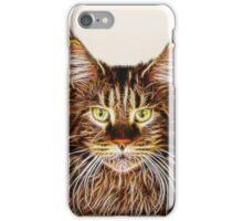 Fractalius Maine Coon Cat iPhone Case/Skin