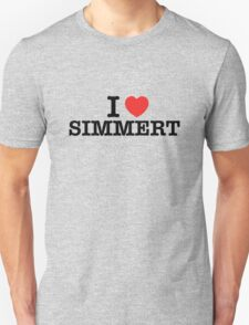 I Love SIMMERT T-Shirt