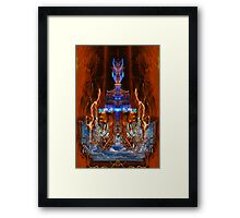 Queen Squarjo Framed Print