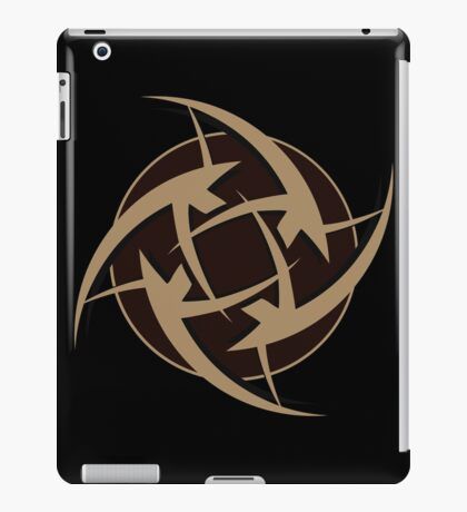 Ninjas In Pyjamas Logo Black iPad Case/Skin