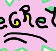 Regrets - Rugrats T-Shirt Sticker