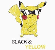 distressed pikachu Kids Clothes