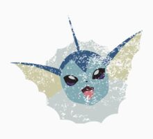 Distressed Vaporeon Kids Clothes