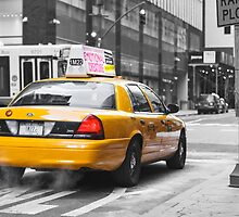 New York Taxi by Max Kalinowicz