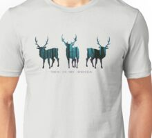 THIS IS MY DESIGN - blue  Unisex T-Shirt