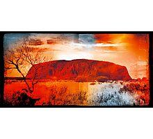 Uluru Ayers Rock Australia Photographic Print