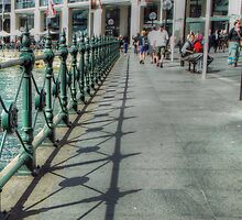 Circular Quay Railings by Eve Parry