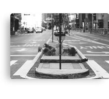 Street Sign Canvas Print