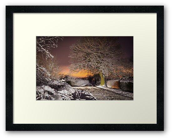 Night snow scene  by simon17