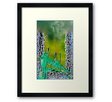 Osprey's pirch Framed Print