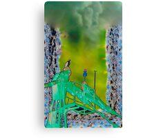 Osprey's pirch Canvas Print