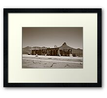 Route 66 - Cool Springs Camp Framed Print
