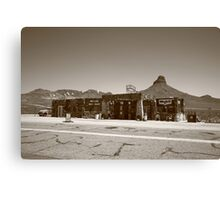 Route 66 - Cool Springs Camp Canvas Print