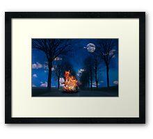Safa Road Framed Print
