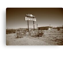 Route 66 - Road Runner Restaurant Canvas Print