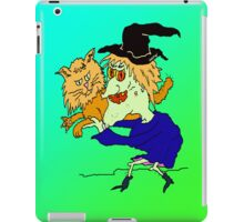 Witch  Cat iPad Case/Skin