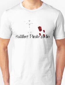 Gallifrey Pirate Radio Flag Logo T-Shirt