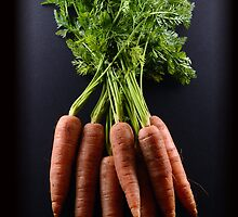 Carrots by Nigel Bangert