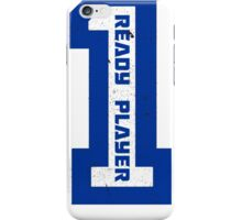 Ready Player One Number Blue iPhone Case/Skin