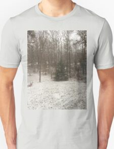 Pine in Snow at the Edge of the Forest T-Shirt