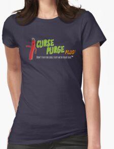 Curse Purge Plus! Shirt Womens Fitted T-Shirt