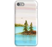 Evergreens on Teacup Island iPhone Case/Skin