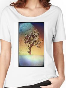 Abstract tree design Women's Relaxed Fit T-Shirt