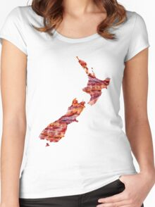 NZ Bacon Women's Fitted Scoop T-Shirt